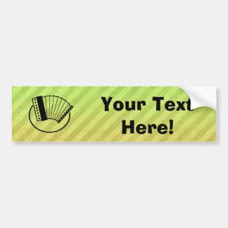 Accordion Bumper Sticker