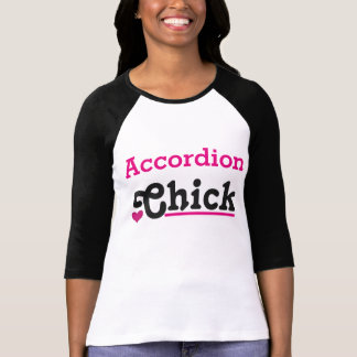 Accordion Chick T-Shirt