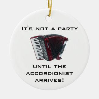 ACCORDION Christmas ornament