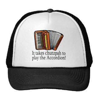 Accordion-chutzpah Cap