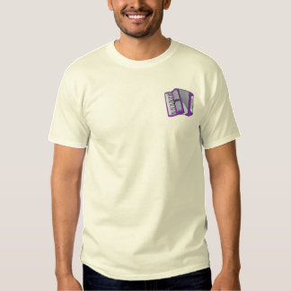 Accordion Embroidered T-Shirt