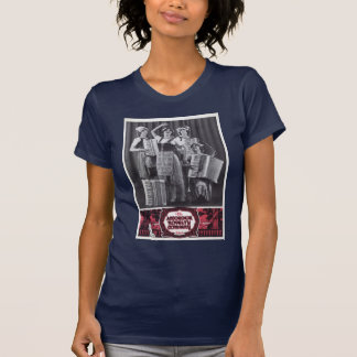 Accordion Girls Vintage Ad T-Shirt