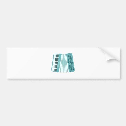 Accordion Instrument Bumper Sticker