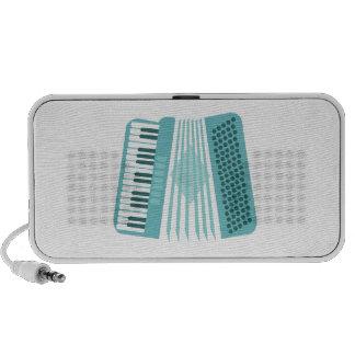 Accordion Instrument Travelling Speaker