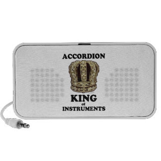 Accordion King of Instruments iPod Speakers