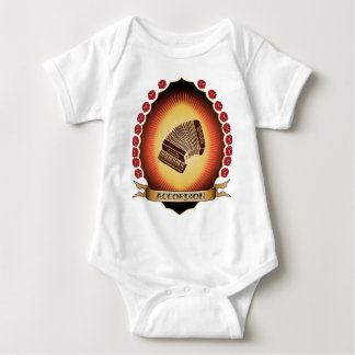 Accordion Mandorla Baby Bodysuit