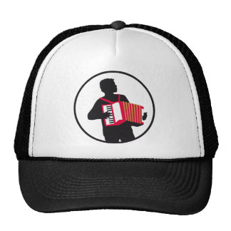 Accordion more player trucker hats