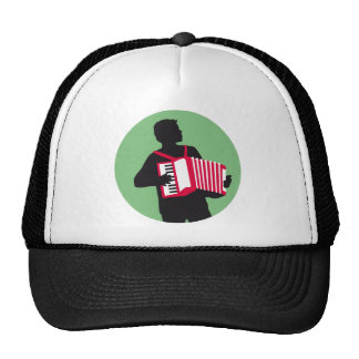 Accordion more player hat