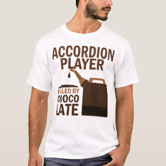 Accordion Player (Funny) Chocolate T-Shirt