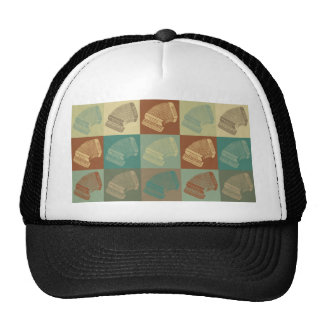 Accordion Pop Art Cap