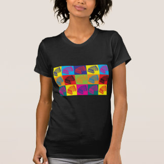 Accordion Pop Art T-Shirt