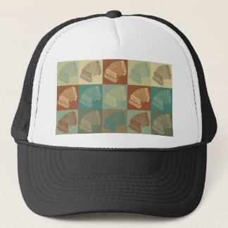Accordion Pop Art Trucker Hat