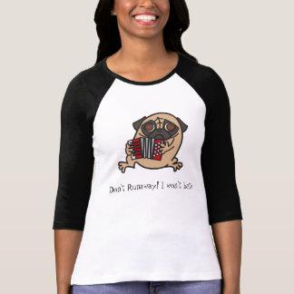Accordion Pug T-Shirt