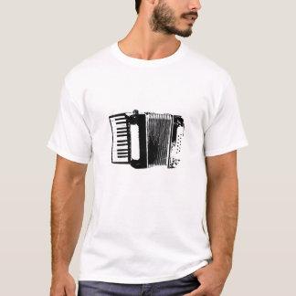 Accordion Silhouette T-shirt White