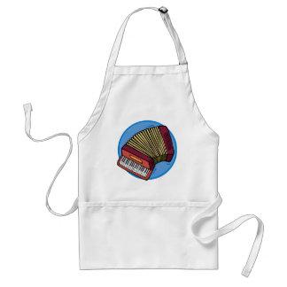 accordion standard apron