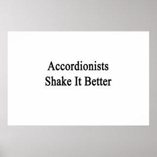 Accordionists Shake It Better Print