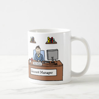 Account Manager- personalized cartoon mug