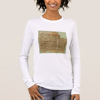 Account of the Battle of Qadesh, given to Syria by Long Sleeve T-Shirt