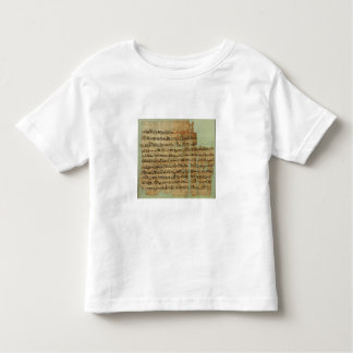 Account of the Battle of Qadesh, given to Syria by Toddler T-Shirt