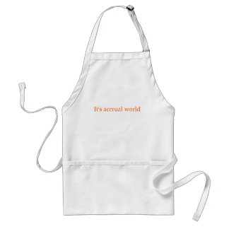 Accountant Apron