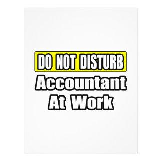 Accountant At Work Custom Flyer