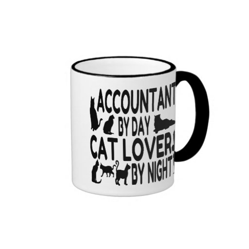 Accountant by Day Cat Lover by Night Mugs