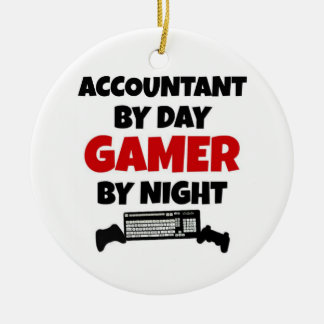 Accountant by Day Gamer by Night Christmas Ornament