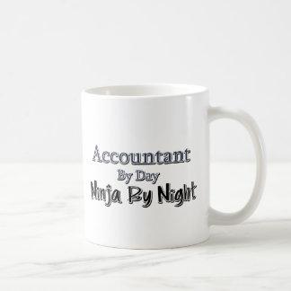 Accountant By Day, Ninja By Night Basic White Mug