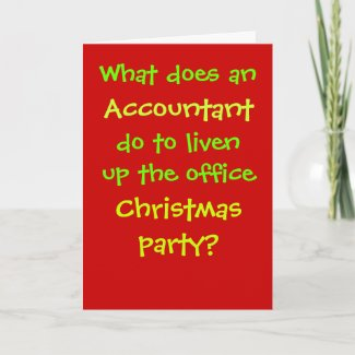 Accountant Christmas Cruel & Funny Christmas Joke