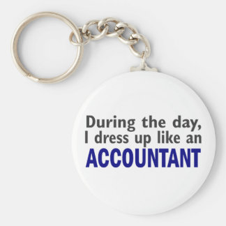 ACCOUNTANT During The Day Key Ring