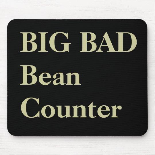 Accountant Funny Nicknames - Bad Beancounter Mouse Mat