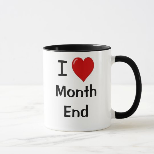 Accountant Gift Funny Accounting Quote Month End Mug