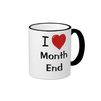Accountant Gift  Funny Accounting Quote  Month End Ringer Mug