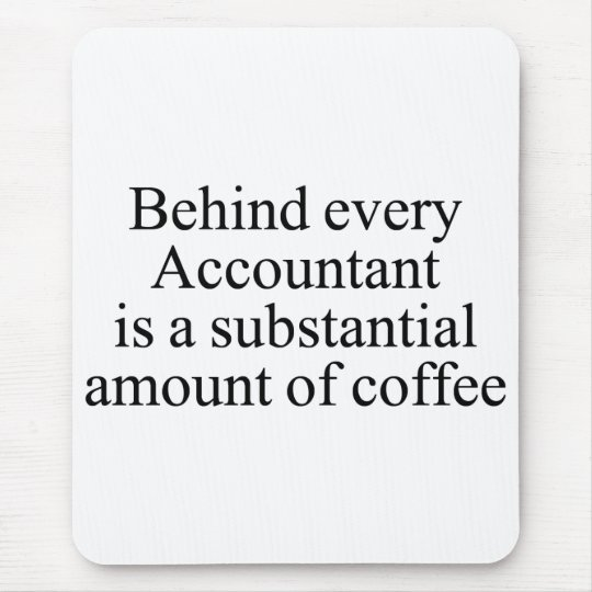 Accountant Mouse pad