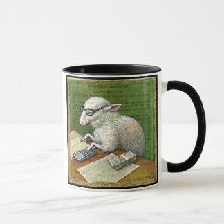Accountant mug, Counting Sheep Mug