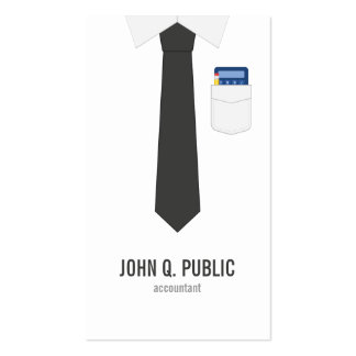 Accountant Pack Of Standard Business Cards