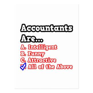 Accountant Quiz...Joke Postcard