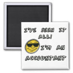 Accountant Refrigerator Magnets