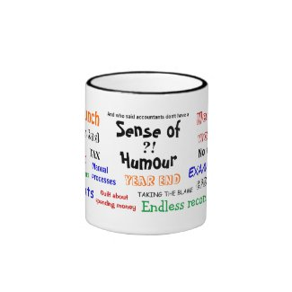 Accountant sense of humour ?! (UK) Coffee Mug