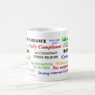 Accountant Stress Reliever Coffee Mug