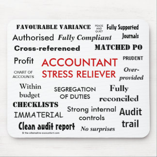 Accountant Stress Reliever - Stress Manager Mouse Pad