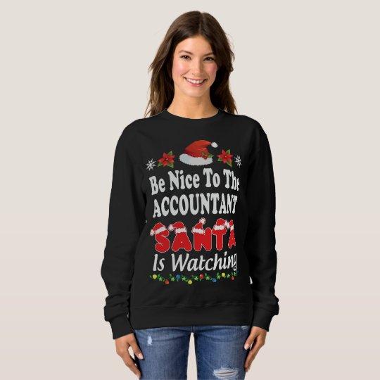 Accountant Ugly Christmas Sweater