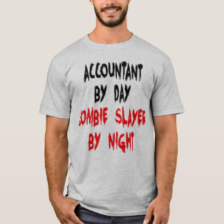 Accountant Zombie Joke T-Shirt