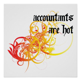 Accountants Are Hot Posters