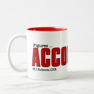 Accountant's Mug | Funny Custom Play on Words