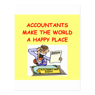 accountants postcard