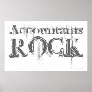 Accountants Rock Poster