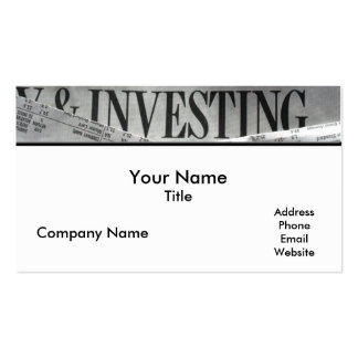 Accounting 4 Business Card