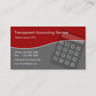 Unique accountant business cards business card printing zazzle uk accounting business cards unique reheart Images