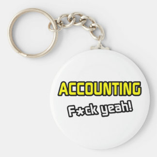 Accounting ... F-ck Yeah! Key Ring